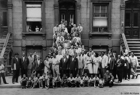 """A Great Day In Harlem"" by Art Kane, 1958"