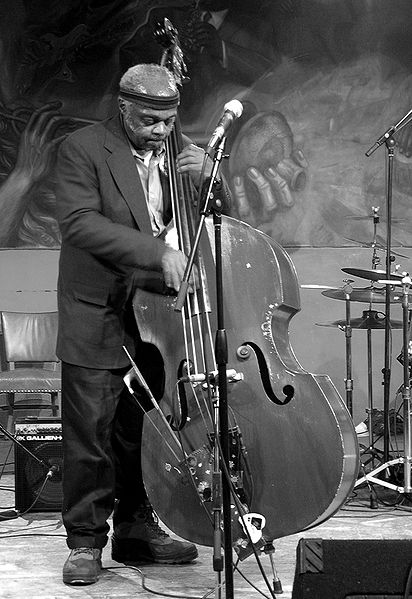 Bassist, Henry Grimes in 2005