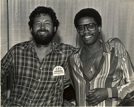 Zan Stewart and Herbie Hancock at the 1981 Playboy Jazz Festival at the Hollywood Bowl in Hollywood, Calif.     PHOTO CREDIT: Tom Copi/NJ.com