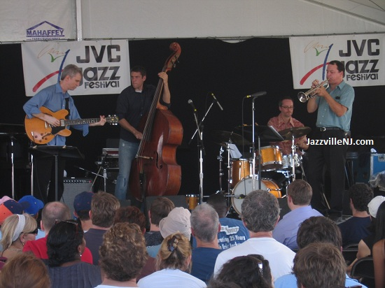 The Ben Allison Quartet performs during my fateful 2007 Newport Jazz Festival trip.