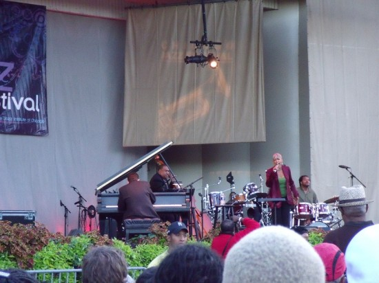 Rene Marie & the High Maintenance Quartet at the 2010 Chicago Jazz Festival