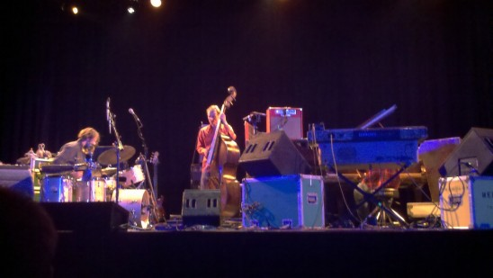 Medeski, Martin & Wood on stage at Tarrytown Music Hall on Sunday, November 14, 2010.