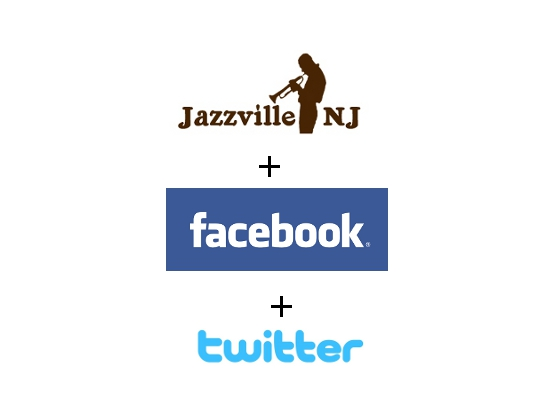 Jazzville, NJ - Now with Facebook and Twitter integration!
