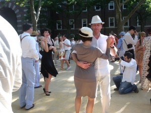 Dancers at Michael Aranella's annual Jazz-age Lawn Party