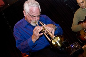 Trumpeter Dave Ginsberg plays with deft agility.