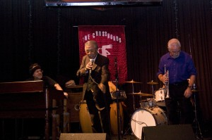 Stan Myers, Host of the Tuesday night Open Jazz Jam at Crossroads in Garwood, NJ